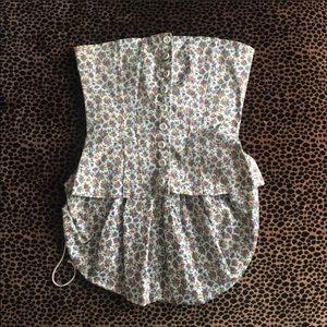 Betsey Johnson bony corset size 6